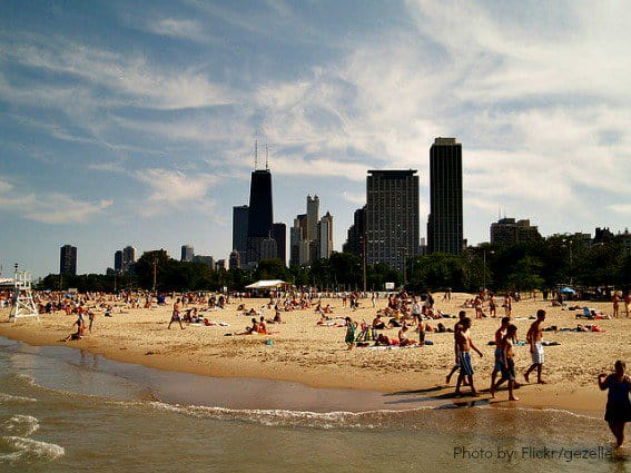 Top Ten Chicago Beach with Kids