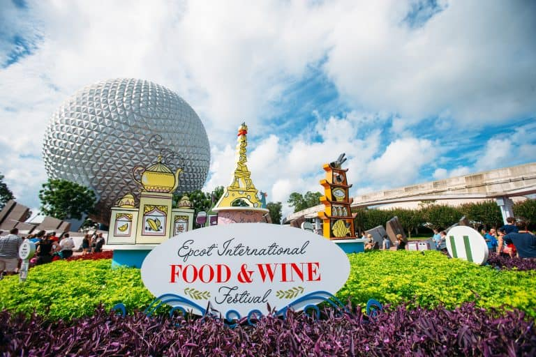 Disney Special Events Epcot Food and Wine Festival
