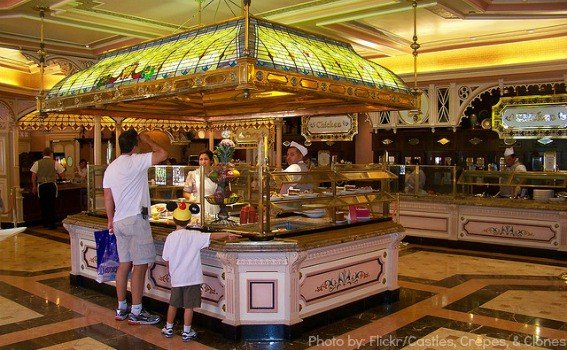 Food Allergies at Disney Parks- Disneyland food