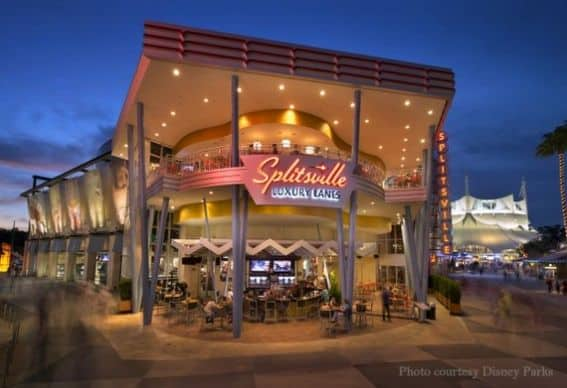 Downtown Disney Splitsville