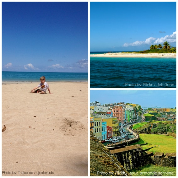 Family Travel Puerto Rico Beaches San Juan