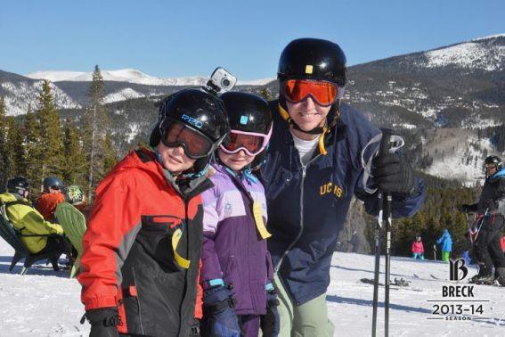 Breckenridge kids skiing