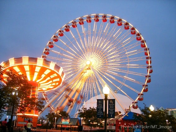 top things to do in chicago: have a ball at Navy Pier and the Children's Museum