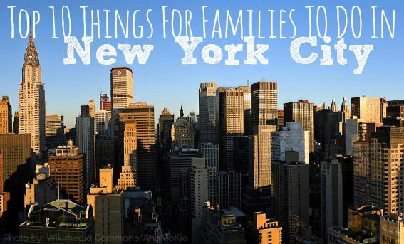 Top 10 things to do in new york city with kids for This to do in nyc