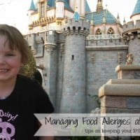 food allergies at Disney parks