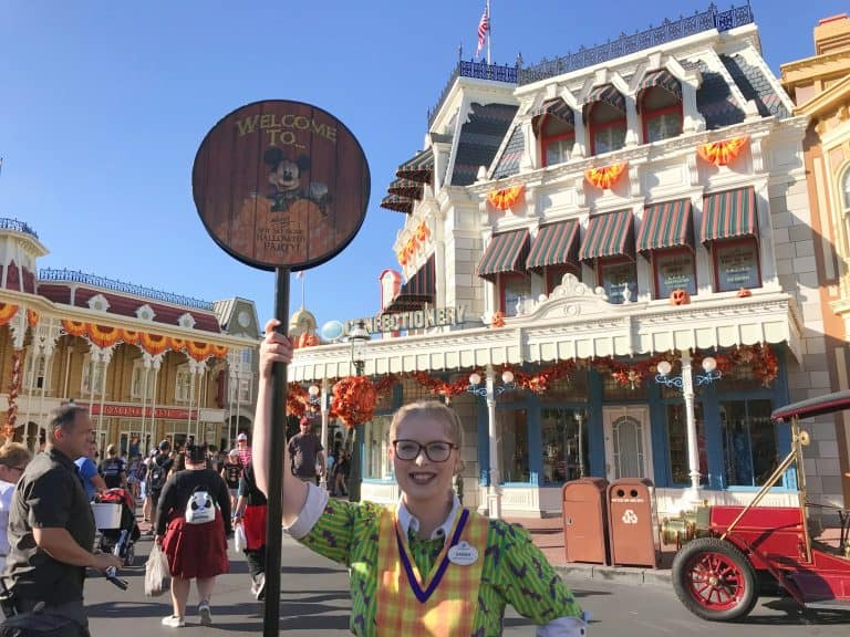 Disney Special events: Halloween
