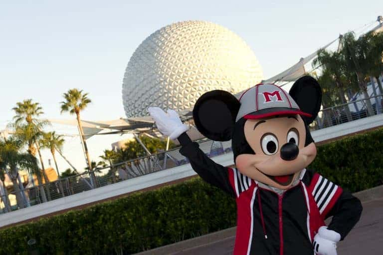 Disney Special Events: Baseball training