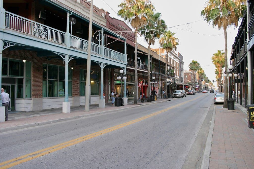 things to do in Tampa with kids include a visit to Ybor City