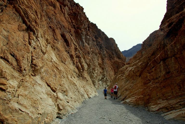 Mosaic Canyon in Death Valley National Park