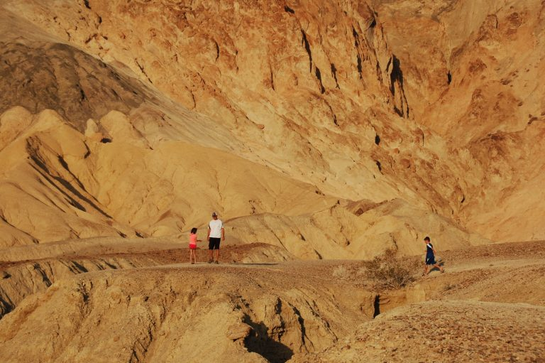 Artists Drive is a good thing to do in Death Valley with kids