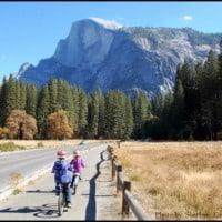 Biking in Yosemite