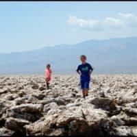 Devils Golf Course Death Valley