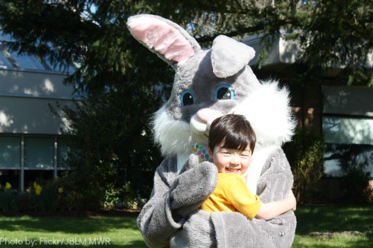 Easter Bunny Photo by: Flickr/JBLM MWR