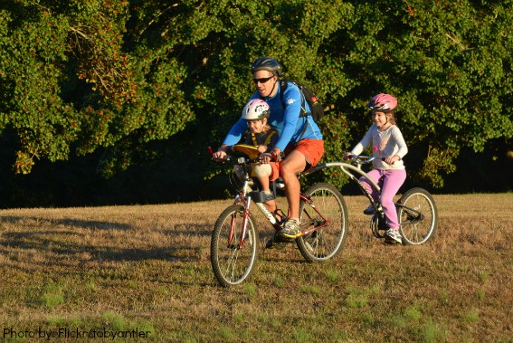 Family Biking with Toddlers and Preschoolers