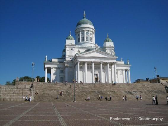 Helsinki Finland Tuomikirkko
