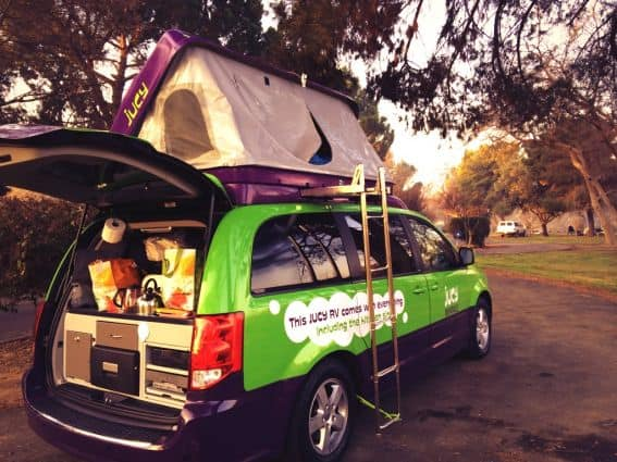 Road Tripping on a Budget in a Jucy Camper