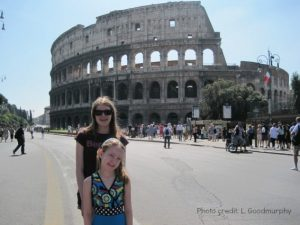 Europe Family Cruise: Rome Italy Colosseum