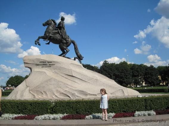 St. Petersburg Russia Bronze Horseman