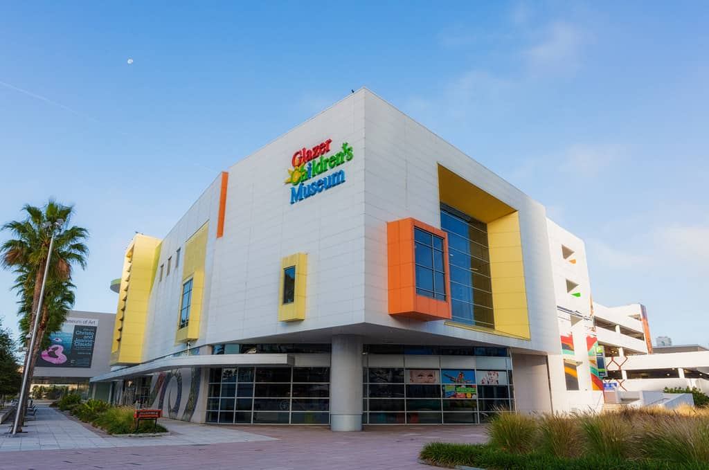 things to do in Tampa with kids include visiting the Glazer Childrens Museum