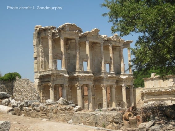 Ephesus Turkey Library of Celsus