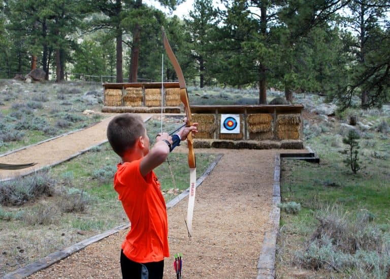 Archery at YMCA of the Rockies