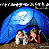 Best Campgrounds for kids mountain states region