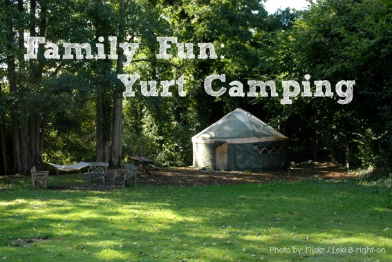 Family Fun Yurt Camping