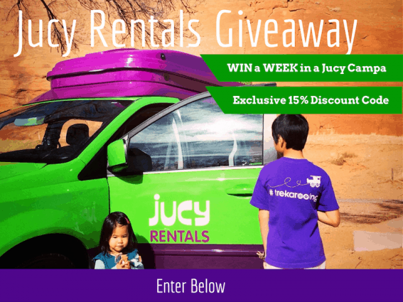 Win a Week Long Jucy Rental