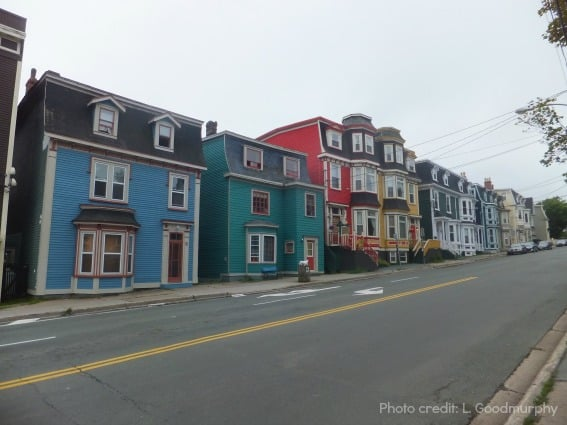 St. John's Newfoundland historic buildings