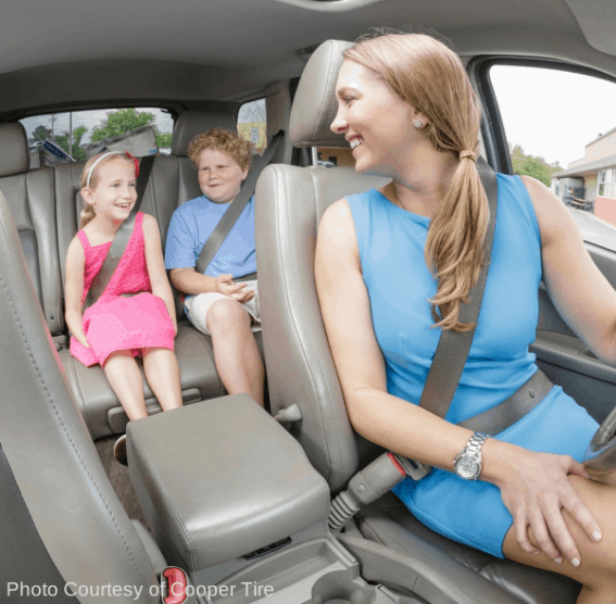Family Travel with Cooper Tire and Trekaroo Dangers of Distracted Driving
