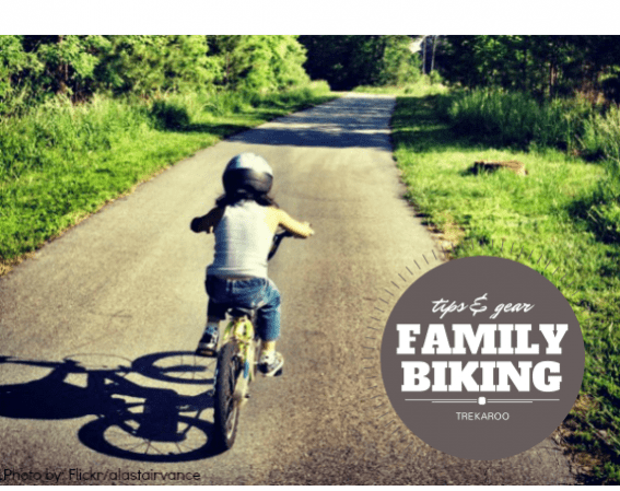 Tips & Gear biking with family