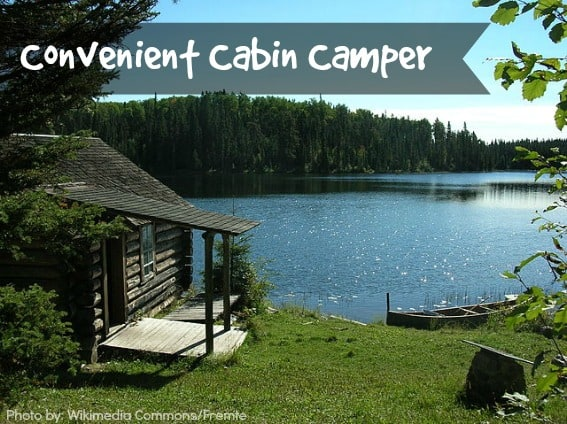 convenient cabin camper