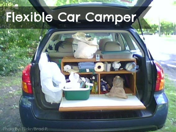 flexible car camper