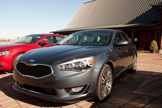 Best Cars for Families: Kia Cadenza Photo Courtesy of: K. Pearson Brown