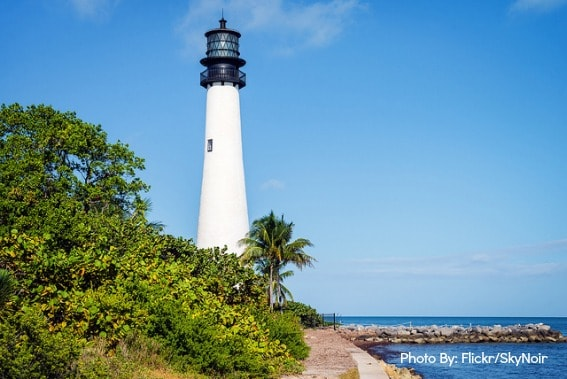 Cape Florida Lighthouse Key Biscayne