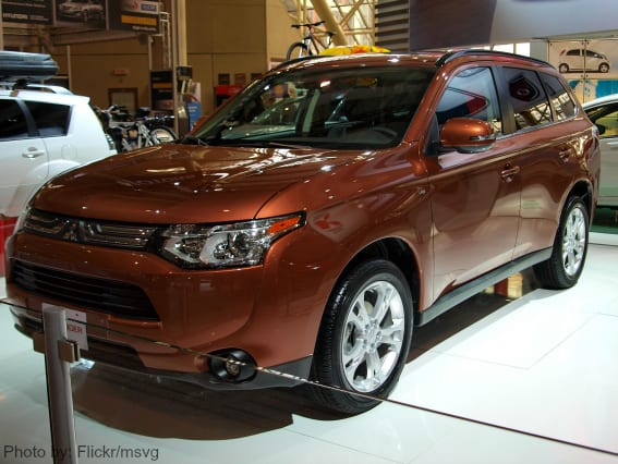 Mitsubishi Outlander from Canadian International Auto Show Photo by: Flickr/msvg