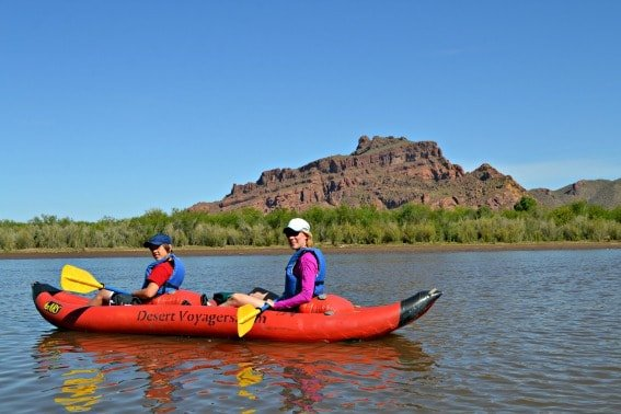 Phoenix Lower Salt Kayaking