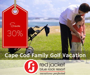 Save on a Cape Cod Family Golf Vacation