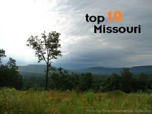 Top 10 Missouri