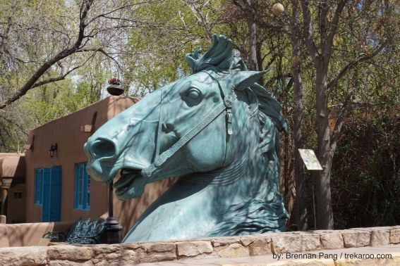 Giant Horse Head Sculpture