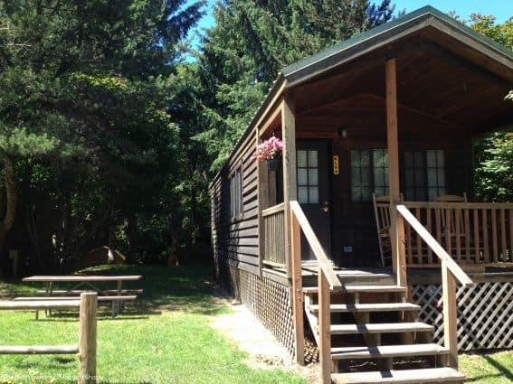 KOA Astoria cabin