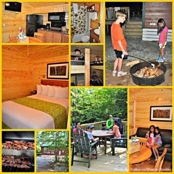 KOA Cabin Collage Edit