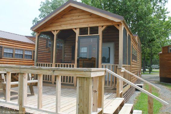 KOA cabin Starkville, MS