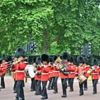 London Buckingham Palace Guard Band