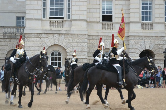 London Changing of Royal Horse Guards