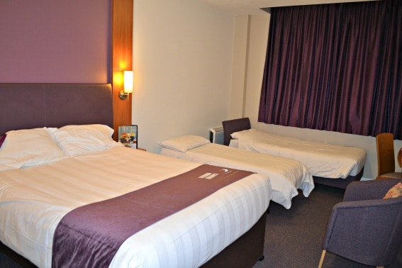 Family Room Premier Inn London County Hall