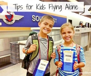 Tips for Kids Flying Solo