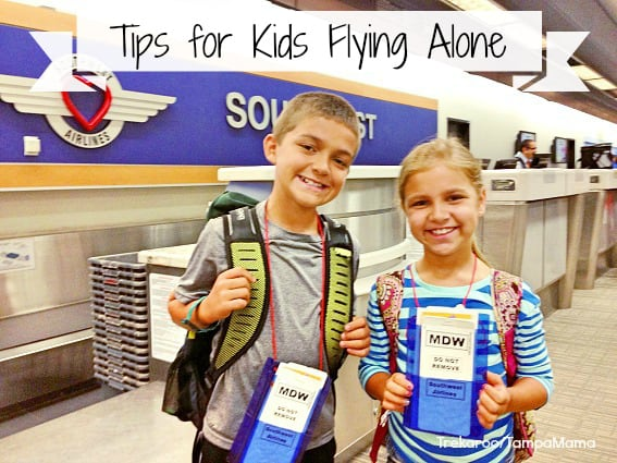 Tips for Kids Flying Alone