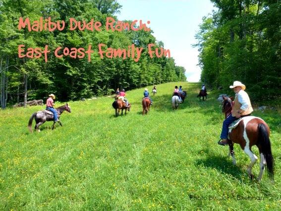 Malibu dude ranch east coast family fun trekaroo for Fun road trip destinations east coast