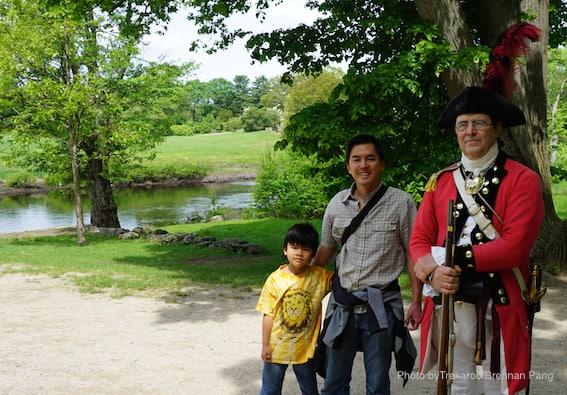 Concord Site American Revolution Field Trip